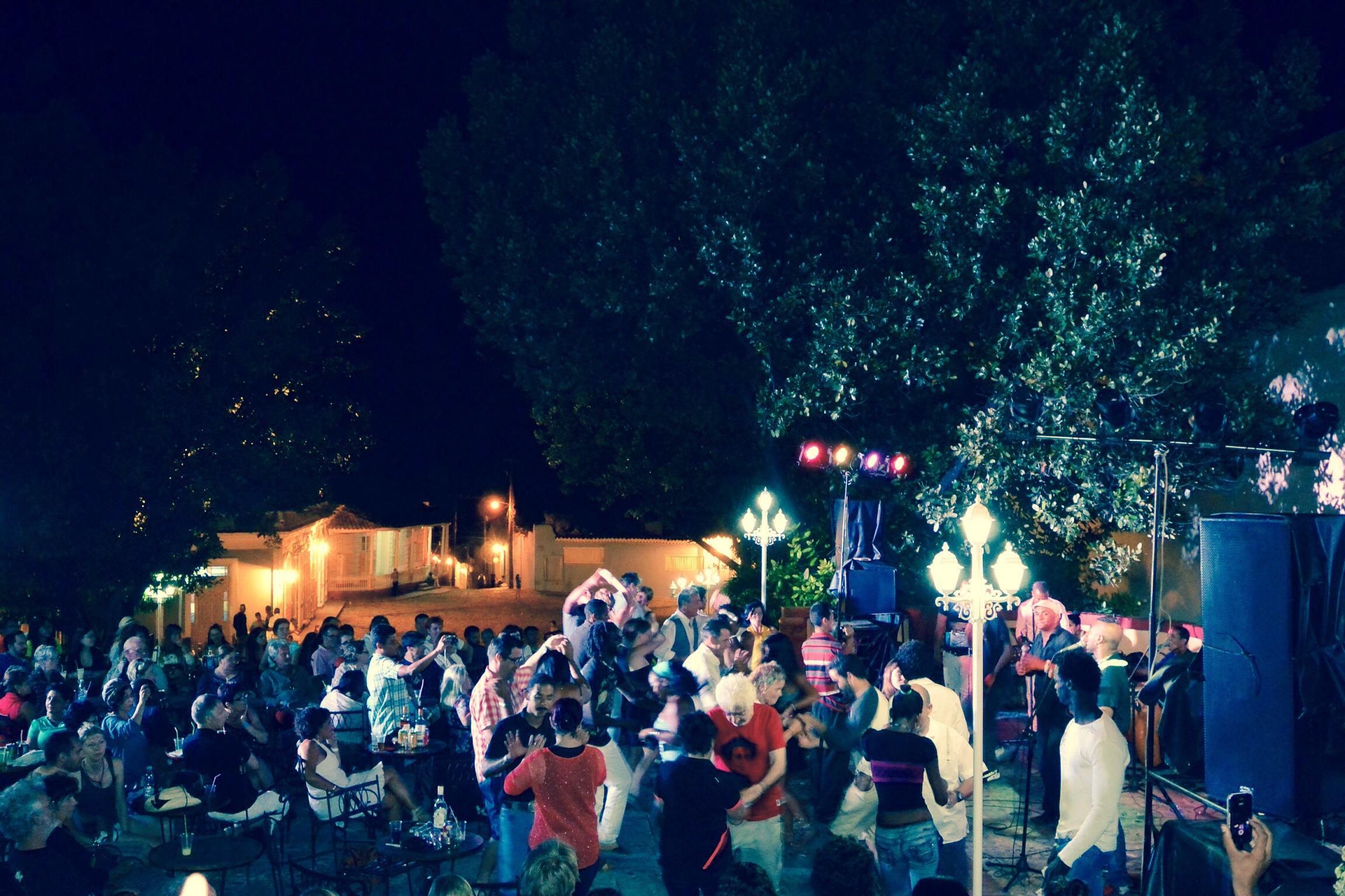 Trinidad at night